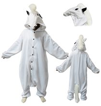 Picture of BCozy White Horse Adult Unisex Onesie