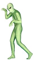Picture of Green Alien Adult Unisex Skin Suit