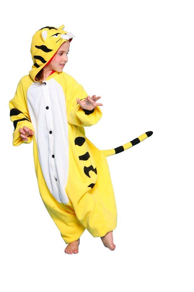 Picture of BCozy Yellow Tiger Child Onesie