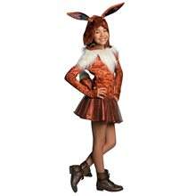 Picture of Pokemon Eevee Hooded Dress Child Costume