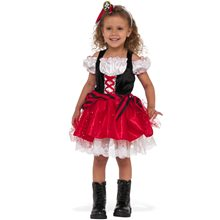 Picture of Sweet Pirate Dress Child Costume