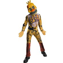Picture of Five Nights at Freddy's Nightmare Chica Child Costume