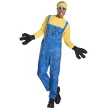 Picture of Despicable Me 3 Minon Dave Adult Mens Costume