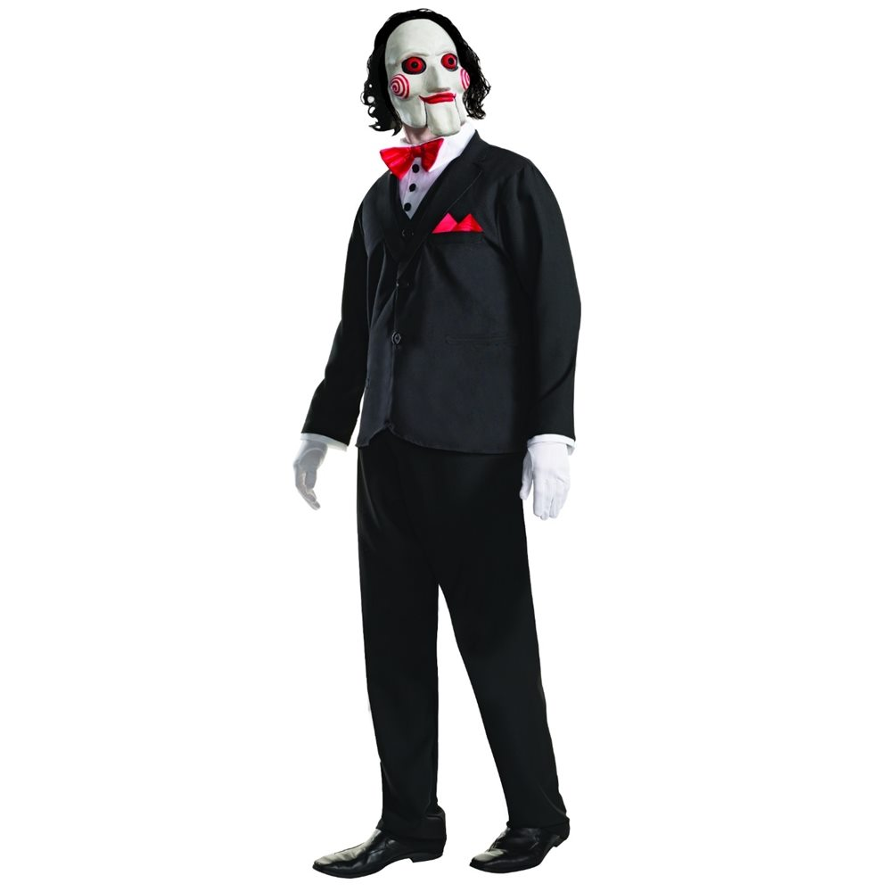 Picture of Saw Billy the Puppet Adult Mens Costume