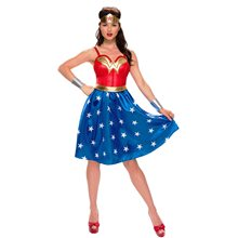 Picture of Wonder Woman Long Dress Adult Womens Costume