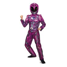 Picture of Power Rangers Movie Deluxe Pink Ranger Child Costume