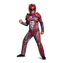 Picture of Power Rangers Movie Deluxe Red Ranger Child Costume