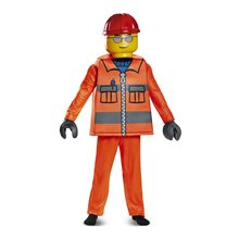 Picture of Lego Deluxe Construction Worker Child Costume