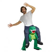 Picture of T-Rex Piggyback Adult Unisex Costume