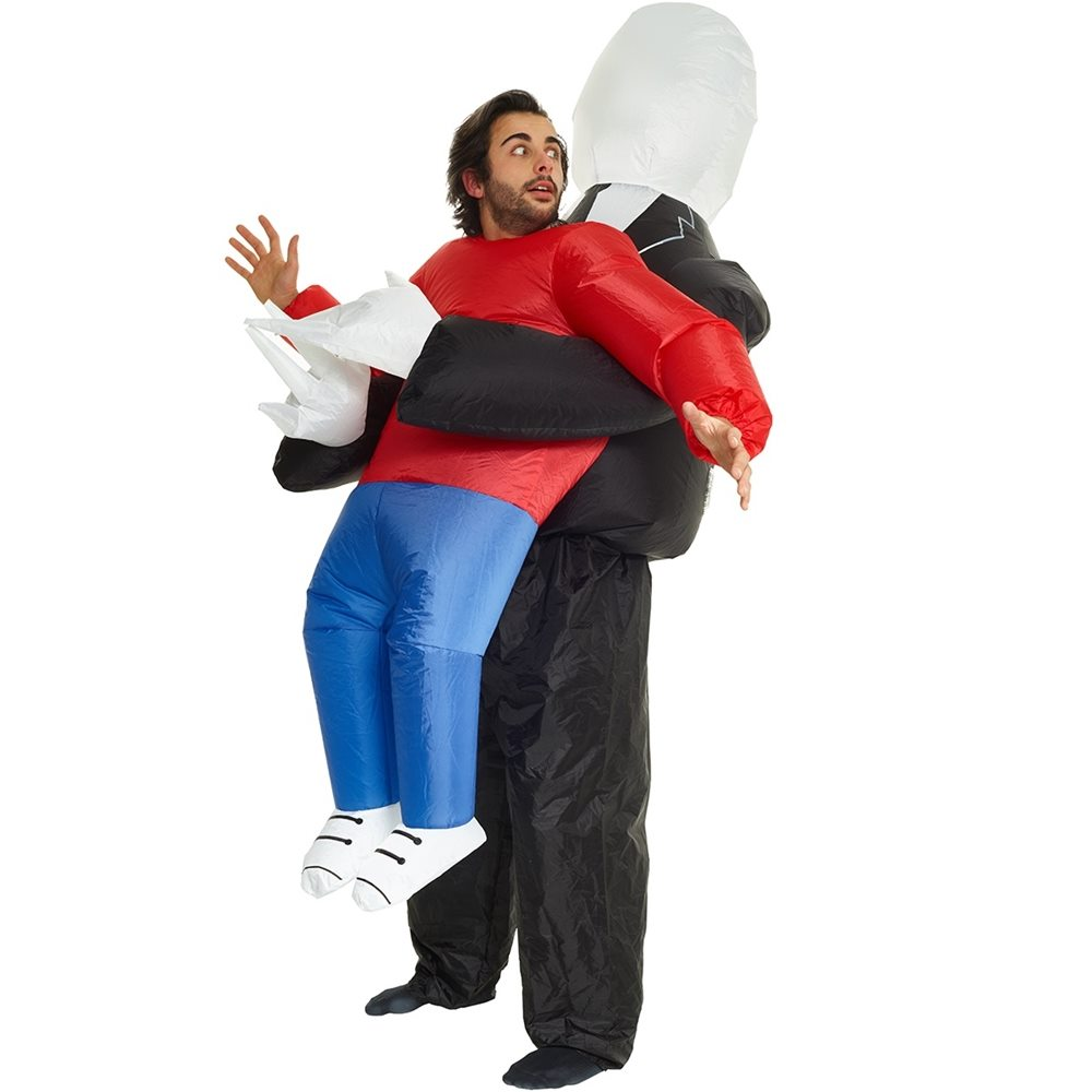 Picture of Pick Me Up Slenderman Inflatable Adult Unisex Costume