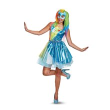 Picture of My Little Pony Movie Deluxe Rainbow Dash Adult Womens Costume