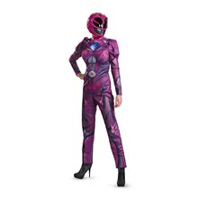 Picture of Power Rangers Movie Deluxe Pink Ranger Adult Womens Costume