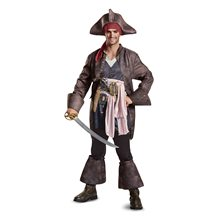 Picture of Dead Men Tell No Tales Deluxe Jack Sparrow Teen Costume