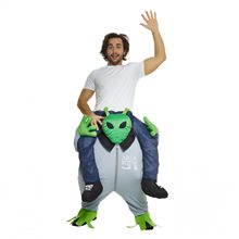 Picture of Alien Piggyback Adult Unisex Costume
