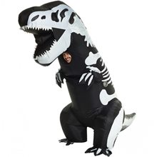 Picture of Giant T-Rex Skeleton Inflatable Adult Unisex Costume