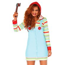 Picture of Cozy Killer Doll Dress Adult Womens Costume