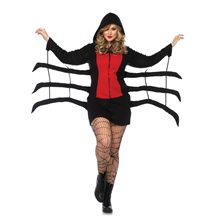 Picture of Cozy Black Widow Adult Womens Plus Size Costume