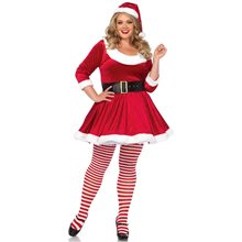 Picture of Santa Sweetie Adult Womens Plus Size Costume