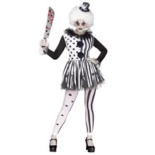 Picture of Killer Clown Adult Womens Costume