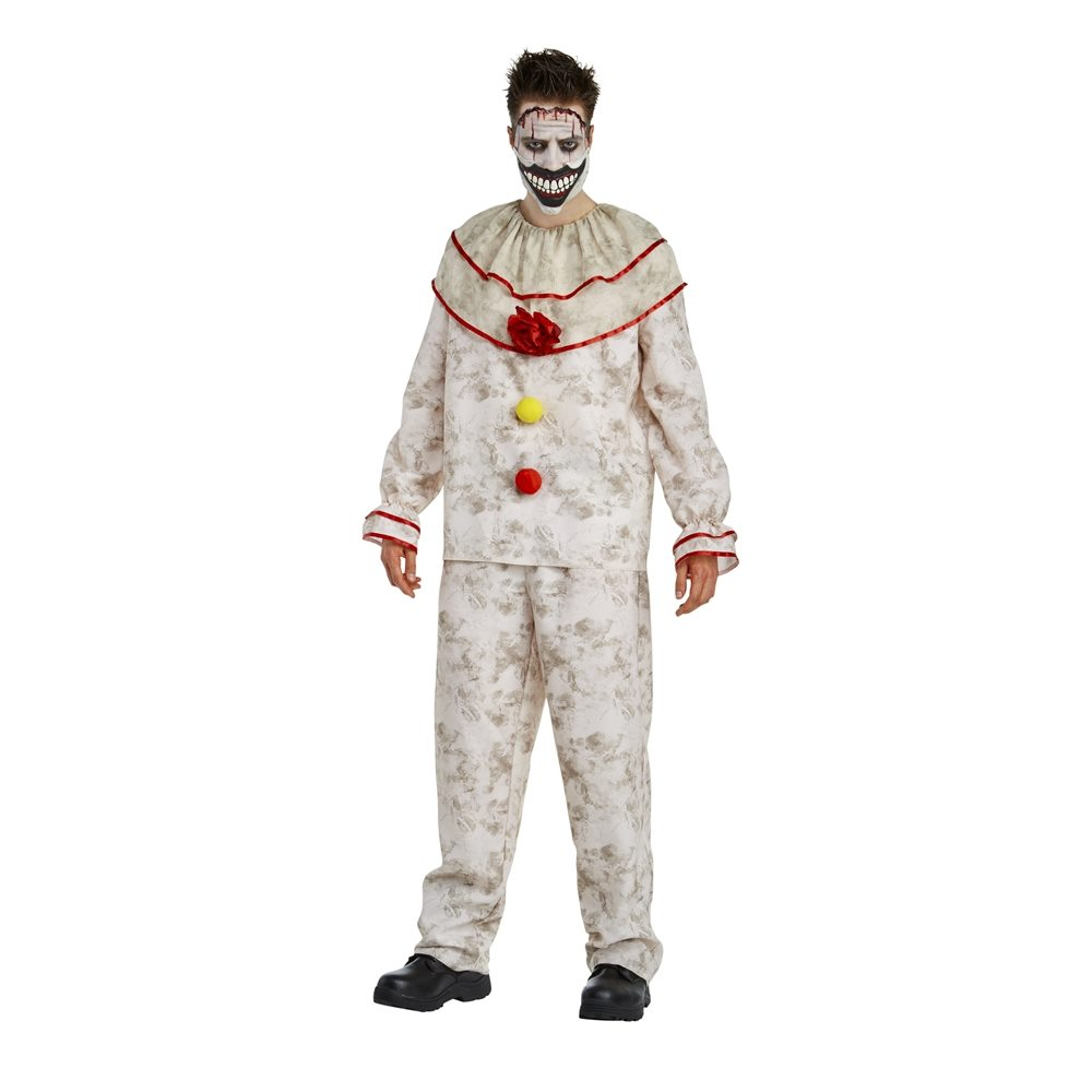 Picture of American Horror Story Deluxe Twisty the Clown Adult Mens Costume