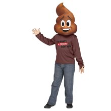 Picture of Emoji Movie Poop Child Costume