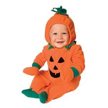 Picture of Pumpkin Onesie Infant Costume