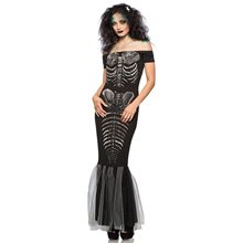 Picture of Skeleton Mermaid Adult Womens Costume