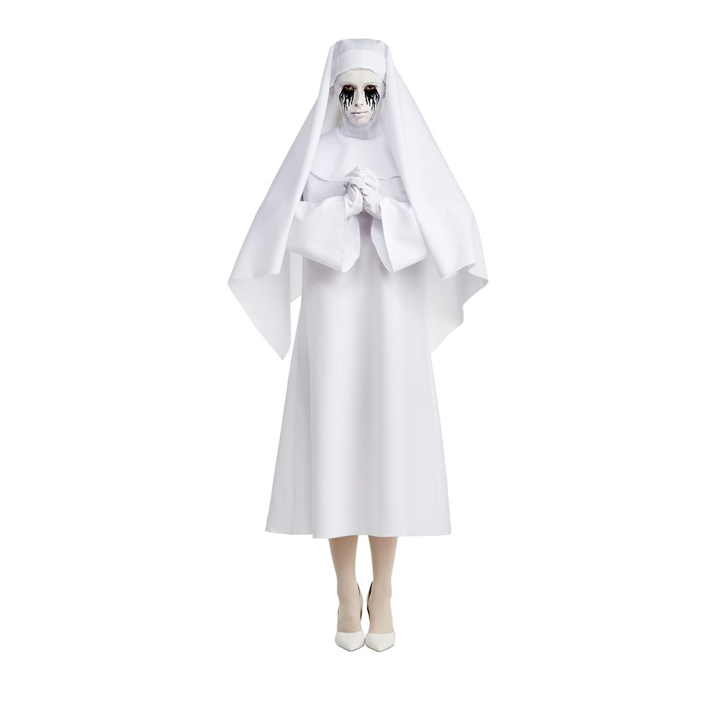 Picture of American Horror Story Deluxe White Nun Adult Womens Costume