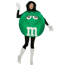 Picture of M&M Green Poncho Adult Unisex Costume