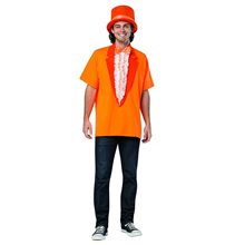 Picture of Dumb & Dumber Lloyd Adult Mens T-Shirt & Hat