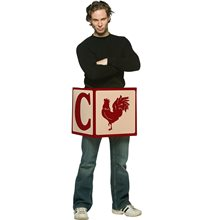Picture of Cock Block Adult Mens Costume