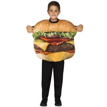 Picture of Cheeseburger Child Costume