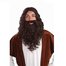 Picture of Biblical Wig and Beard Adult Set