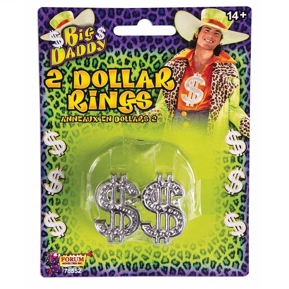Picture of Big Daddy Dollar Sign Rings 2ct