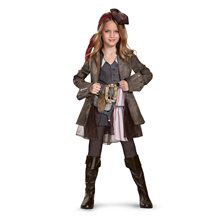 Picture of Dead Men Tell No Tales Jack Sparrow Dress Child Costume