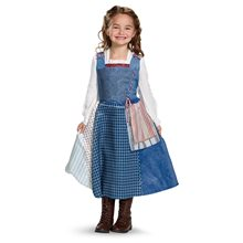 Picture of Belle Deluxe Village Dress Child Costume