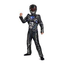 Picture of Power Rangers Movie Deluxe Black Ranger Child Costume