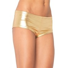 Picture of Gold Lame Adult Booty Shorts