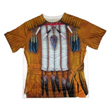 Picture of Instant Indian Brave Adult Mens T-Shirt