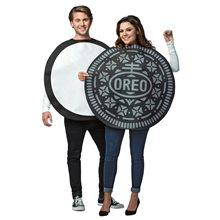 Picture of Oreo Cookie Adult Couple Costume Set