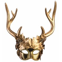 Picture of Golden Faun Half Mask