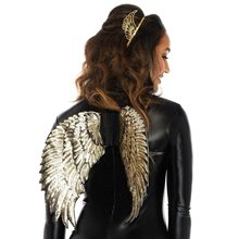 Picture of Gold Sequin Wings