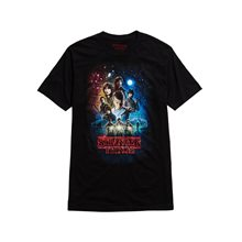 Picture of Stranger Things Poster Adult Mens T-Shirt