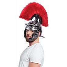 Picture of Super Deluxe Silver Roman Helmet
