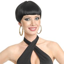 Picture of 20s Flapper Short Black Wig