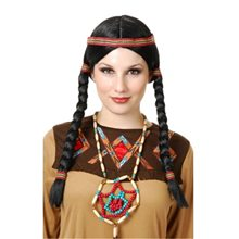 Picture of Black Native American Maiden Wig