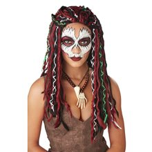 Picture of Voodoo Priestess Adult Wig