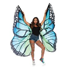 Picture of Black & Blue Butterfly Festival Wings