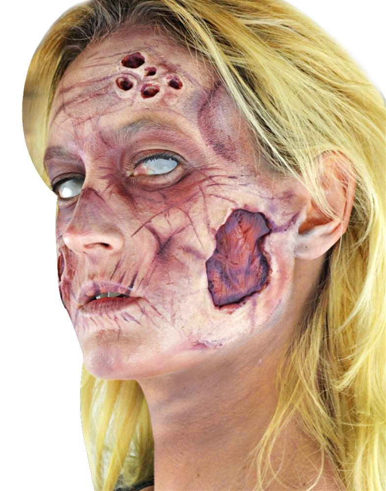Picture of Deluxe Zombie Woman FX Makeup Kit