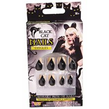 Picture of Black Cat Nails